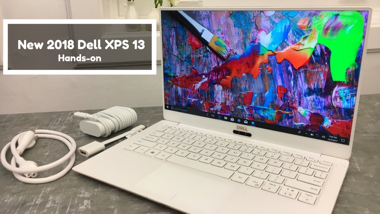 44148230dce7 Dell XPS 13 2018 Edition Hands-On!