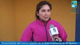 Presentación de nuevo capitán de Carabineros de la Sub-Comisaria El Quisco