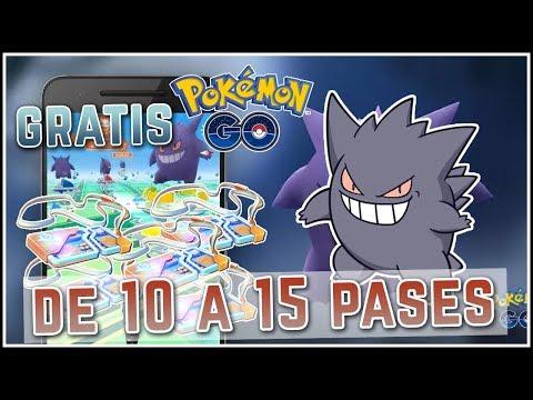 TRUCO 15 PASES GRATIS PARA EL DÍA DE GENGAR | POKÉMON GO thumbnail