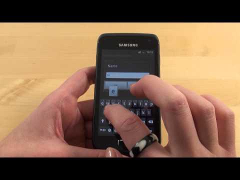 Samsung Galaxy W Quickstart