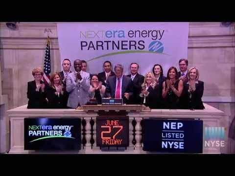NextEra Energy Partners Celebrates Listing on the NYSE