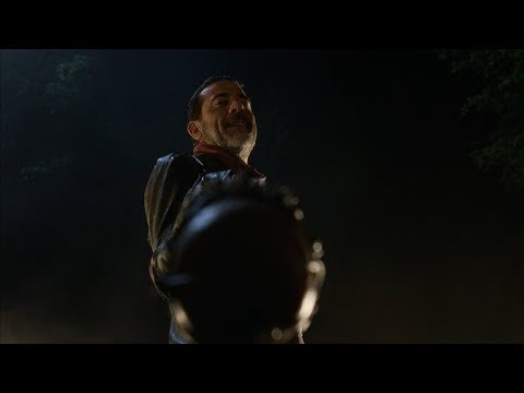 TWD S7E1 - Flashback: Negan picks & kills Abraham