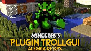 Plugin TrollGUI - Alegria de Ops Minecraft
