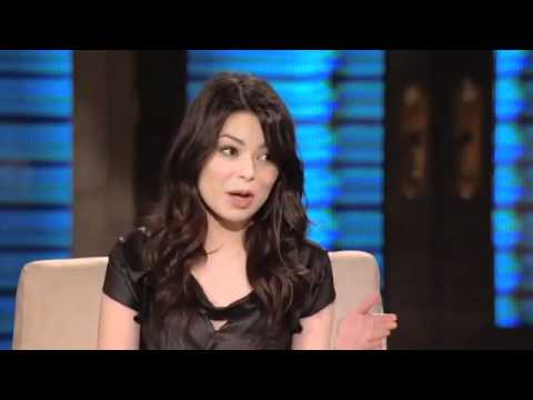 Miranda Cosgrove  Lopez Tonight Interview.