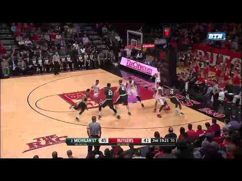 Bryn Forbes Sets Big Ten Record with 11 3-Pointers