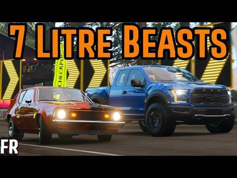 Forza Horizon 4 - 7 Litre Beasts thumbnail