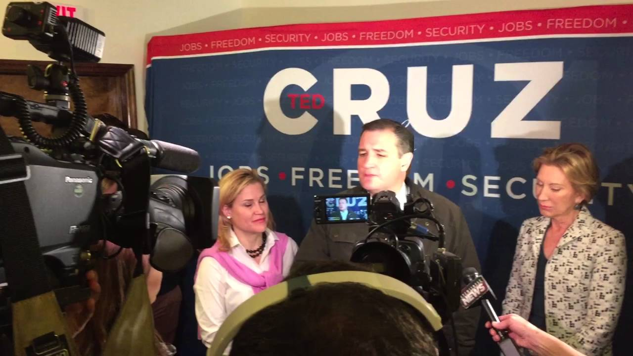 Ted Cruz Blasts Donald Trump At Evansville Indiana Stop Youtube