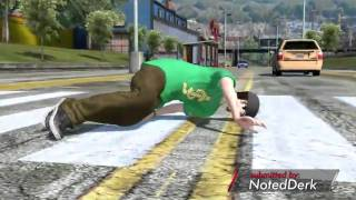 "Game Fails: Skate 3 ""Why your mother warned you to look both ways"""