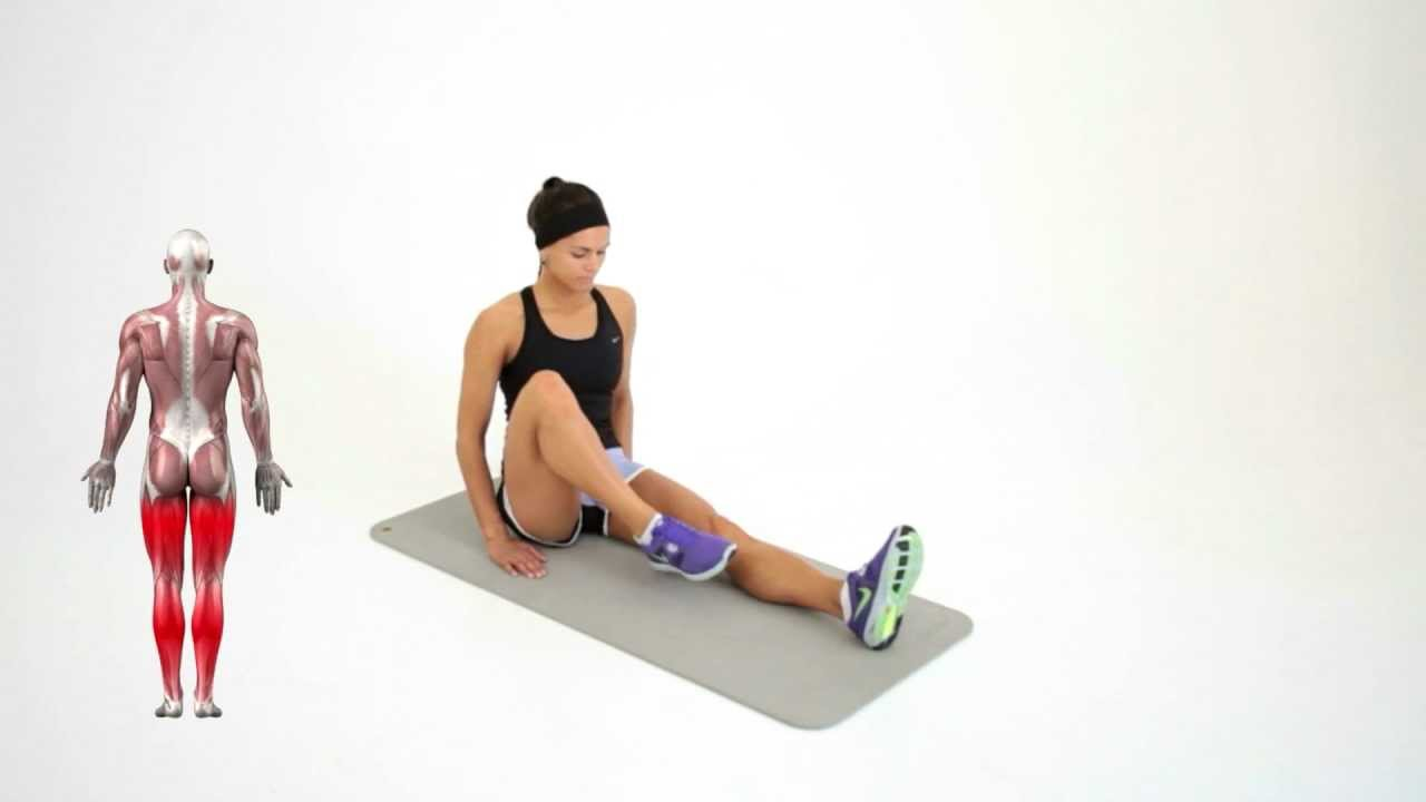 Seated Modified Hurdler Stretch Is One Of The Most