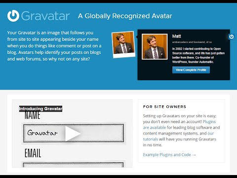 How To Add Profile Picture Image Avatar Gravatar Wordpress Github Hootsuit Disqus Comments 2015