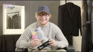 Ed Sheeran wins 'Most Played Song' at The Global Awards 2018