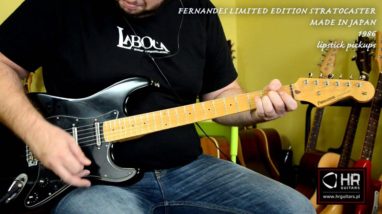 Fernandes Limited Edition Stratocaster 1986  Japan