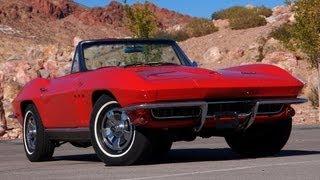 1966 Chevy Corvette 327 Convertible-Test Drive - Viva Las Vegas Autos