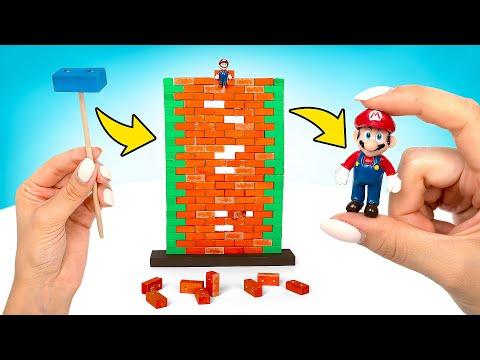 DIY Super Mario Game IN REAL LIFE!