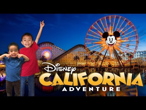 Disney California Adventure Park in Anaheim California: Look Who's Traveling