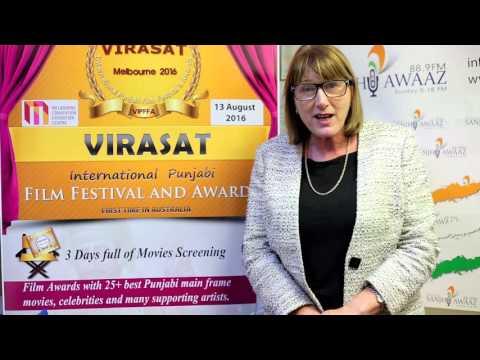 |Joanne Ryan MP Supporting Virasat IPFFA 2016|