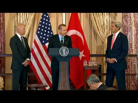 Secretary Kerry Delivers Remarks at a Lunch Honoring Turkish Prime Minister Erdogan