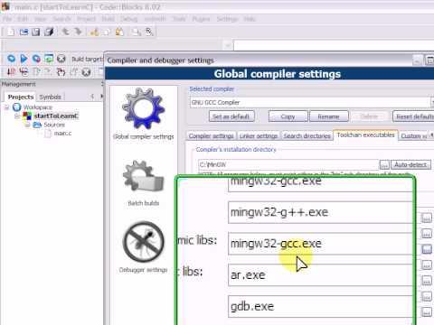 code blocks 8.02 mingw setup exe