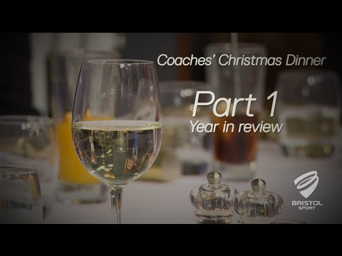 Bristol Sport's Coaches' Christmas Dinner - Part 1 - Year in Review