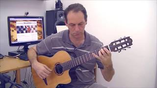 A lenda do Abaeté - Solo Guitar by Renato Candro
