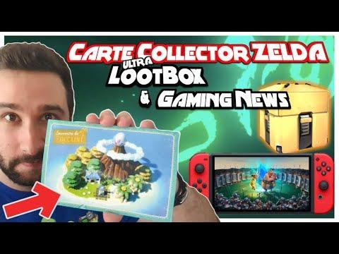Une Carte ULTRA Collector Zelda 🔥 Lootbox, Asterix&Obelix XXL3, Cooking Mama &  Gaming News