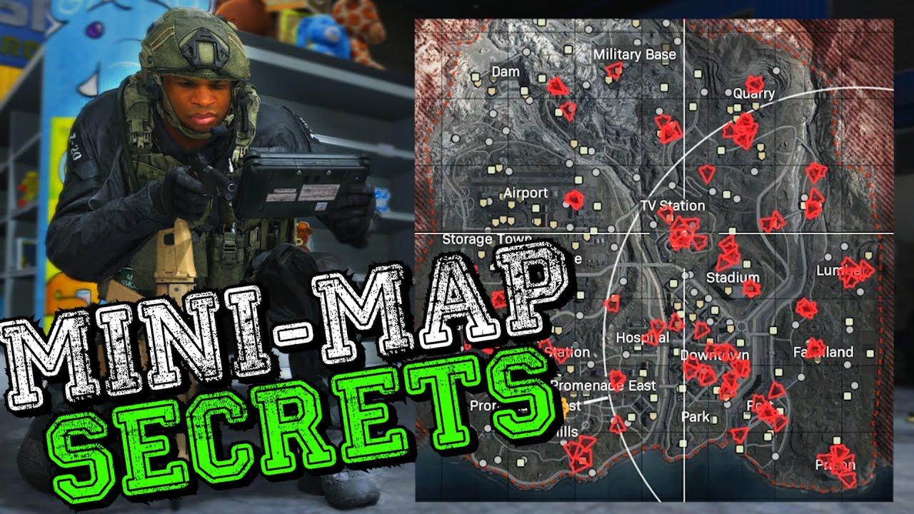 10 Secrets That Warzone Doesn T Tell You Mini Map Secrets How