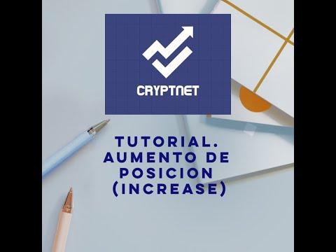 Tutorial CRYPTNET. Aumento de Posicion(Increase)