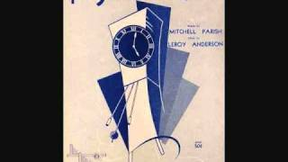 Leroy Anderson and His Pops Concert Orchestra - The Syncopated Clock (1951)