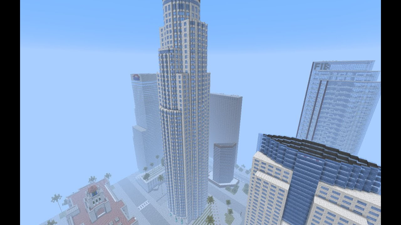 Minecraft Los Angeles HD YouTube - Minecraft xbox 360 los angeles map download