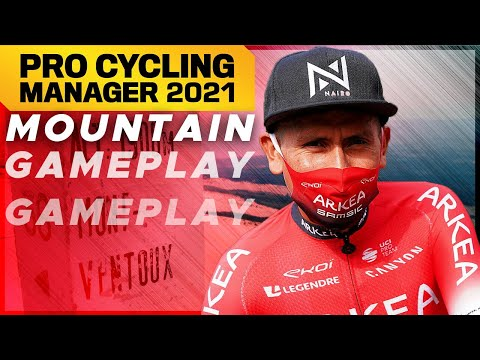 Pro Cycling Manager 2021 : MOUNTAIN GAMEPLAY // Mont Ventoux ft. Nairo Quintana |