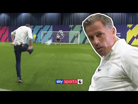Carragher and Neville recreate Ruben Neves' INCREDIBLE volley!