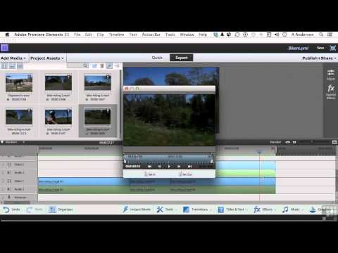 Adobe Premiere Elements 11 Tutorial | Generating A PiP Effect