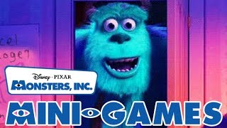 Monsters, Inc. All Mini-Games (PS2)