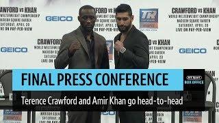 Full Terence Crawford v Amir Khan final press conference