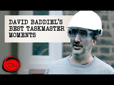 David Baddiel's Best Taskmaster Moments