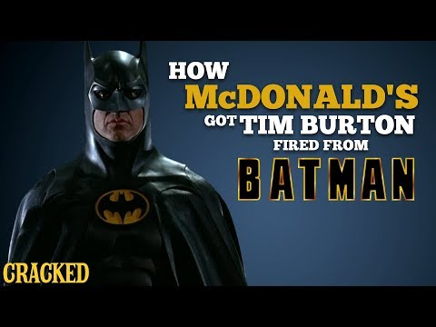 How McDonald's Got Tim Burton Fired From Batman