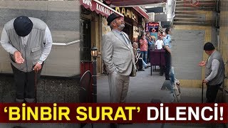 İstanbul da Binbir Surat Dilenci Kamerada