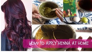 Turn grey hair black at home | how to prepare henna hair dye paste for silky smooth hair