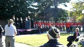 Veterans Day 2010 Ceremony at Post 8 - Part 1