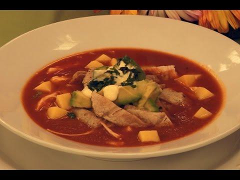 Sopa De Tortillas 29 Mayo Viviana En Tu Cocina Youtube