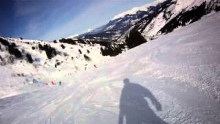 FILE0047 Mottaret Trois Vallees 2013 Snowboard Blue piste Sitelle Blue piste Martre Thumbnail