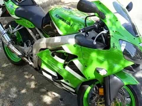 2002 Kawasaki ZX-6R - YouTube
