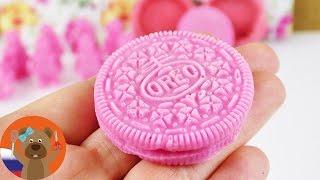 Розовое мыло в форме печенья ОРЕО | Мыловарение своими руками | Можно ли это съесть мыло???