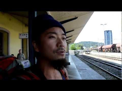 アキーラさん散策①スロベニア・リュブリャーナ駅,Station,Ljubljana,Slovenia