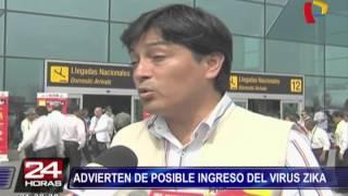Minsa alerta sobre posible ingreso de virus Zika al Perú