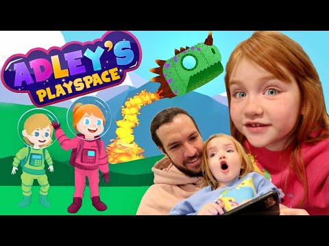 Adley's PlaySpace  🚀 Explore Planets! Help Friends! PLAY AS NiKO! Color! Adley app reviews new game