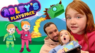 Adley's PlaySpace   Explore Planets! Help Friends! PLAY AS NiKO! Color! Adley app reviews new game
