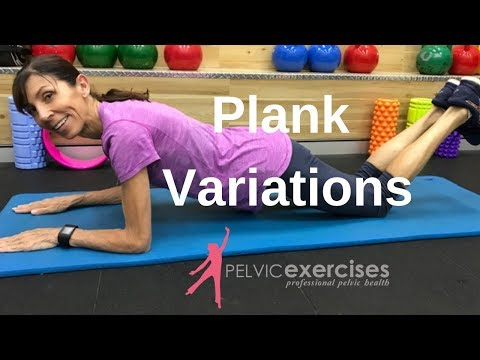 Plank Variations for Your Core With Prolapse Problems or After Hysterectomy