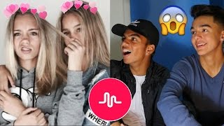 BEST TWINS ON MUSICAL.LY?? // Lisa and Lena Musical.ly Compilation (REACTION)