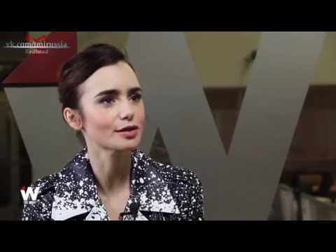 "Lily Collins - About ""Shadowhunters"" TV Show [RUS SUB]"